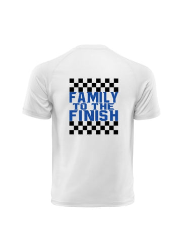 Family to the Finish Short Sleeve Tee