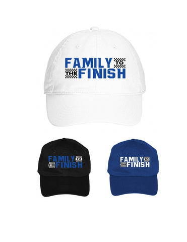 Family to the Finish Cap