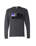 Harrah Myspace Long Sleeve Tee