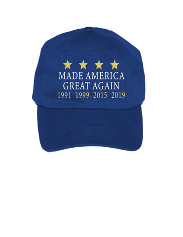 Made America Great Again Cap