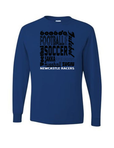 Soccer Languages Long Sleeve Tee