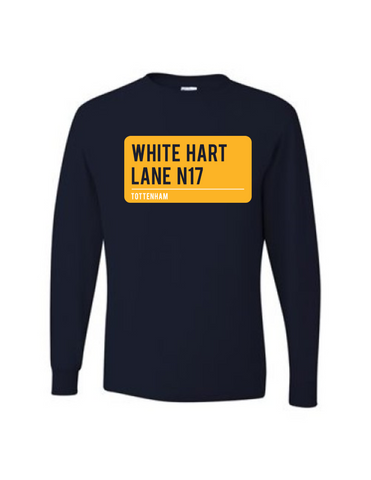White Hart Lane Long Sleeve Tee