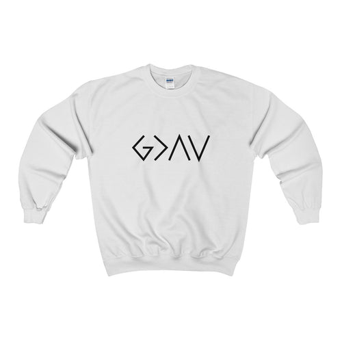 God Is Greater than the Highs and Lows sweatshirt