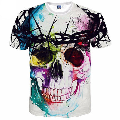 Skull Colors T-Shirt front