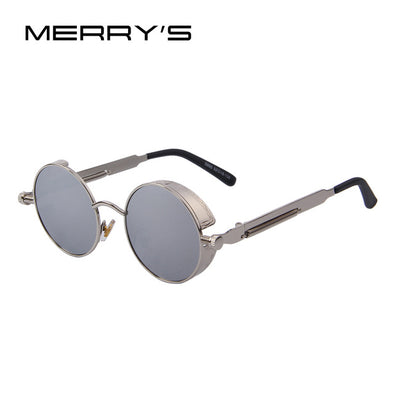 Vintage Look sunglasses Silver/Silver front
