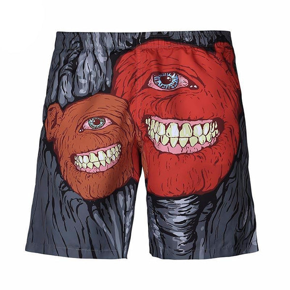 Monster Duo Shorts front