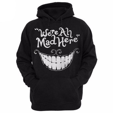 Cheshire Smile Unisex Hoodie front