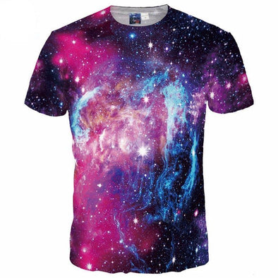 Galaxy Purple T-Shirt front