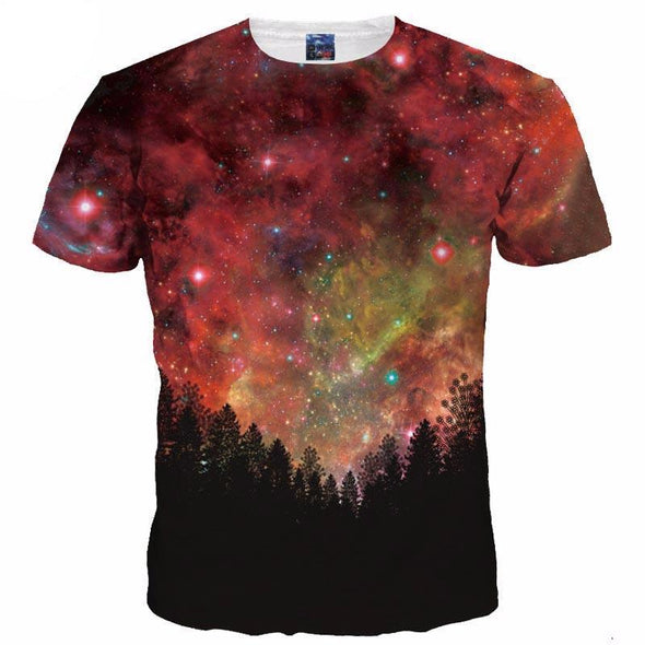 Galaxy Forrest T-Shirt front