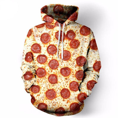 Pizza Unisex Hoodie front