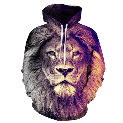 Lion Unisex Hoodie front