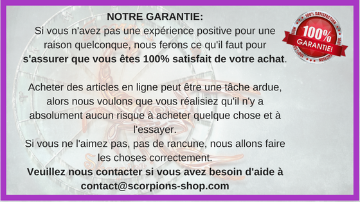 satisfactions clients scorpions-shop