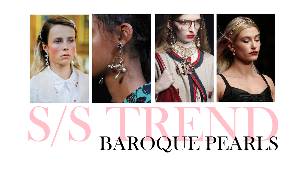 Spring/Summer Jewellery Trend: Baroque Pearls