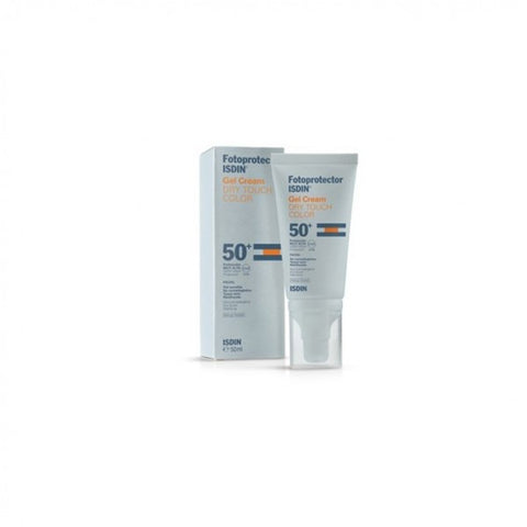 Isdin Sunscreen Spf 50+ Gel Cream Dry Touch Color 50ml