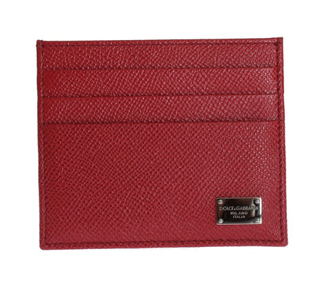 Bordeaux Dauphine Leather Cardholder Wallet