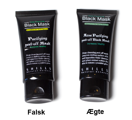 black mask tube