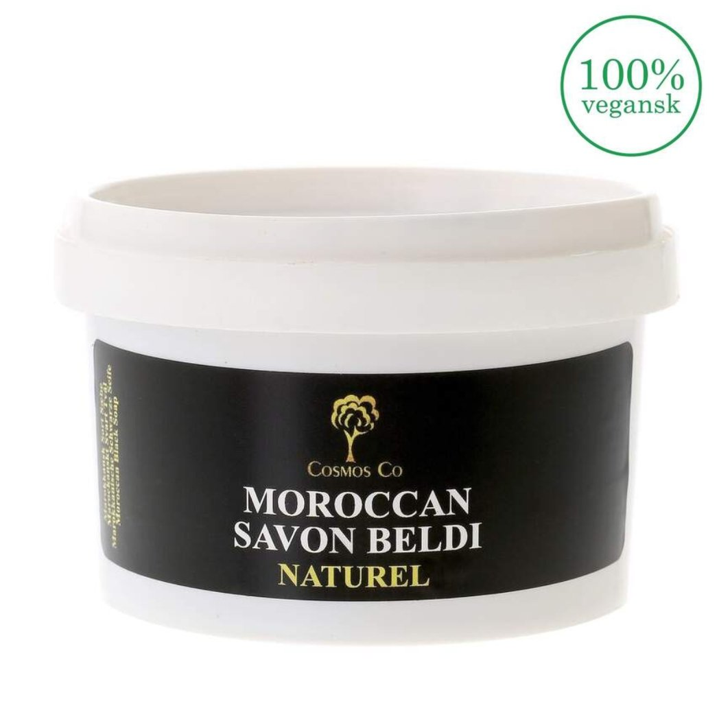 Image of   Cosmos Co - Savon Beldi / Sort Sæbe - Naturel (200g)