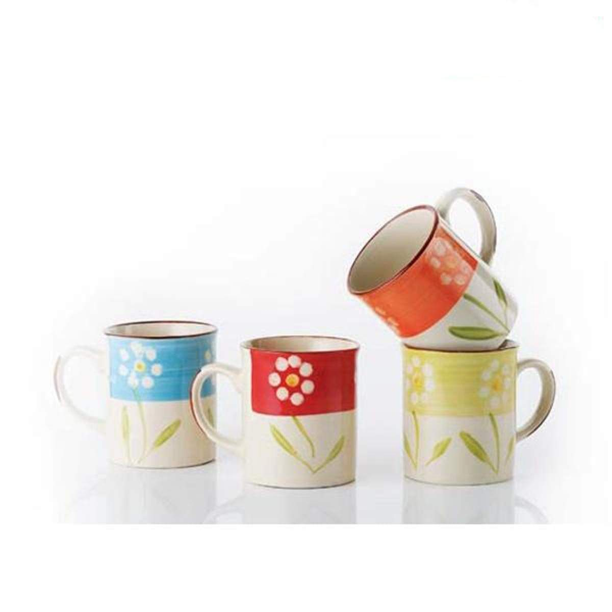0068 Flower Coffee Mug (S) 8oz