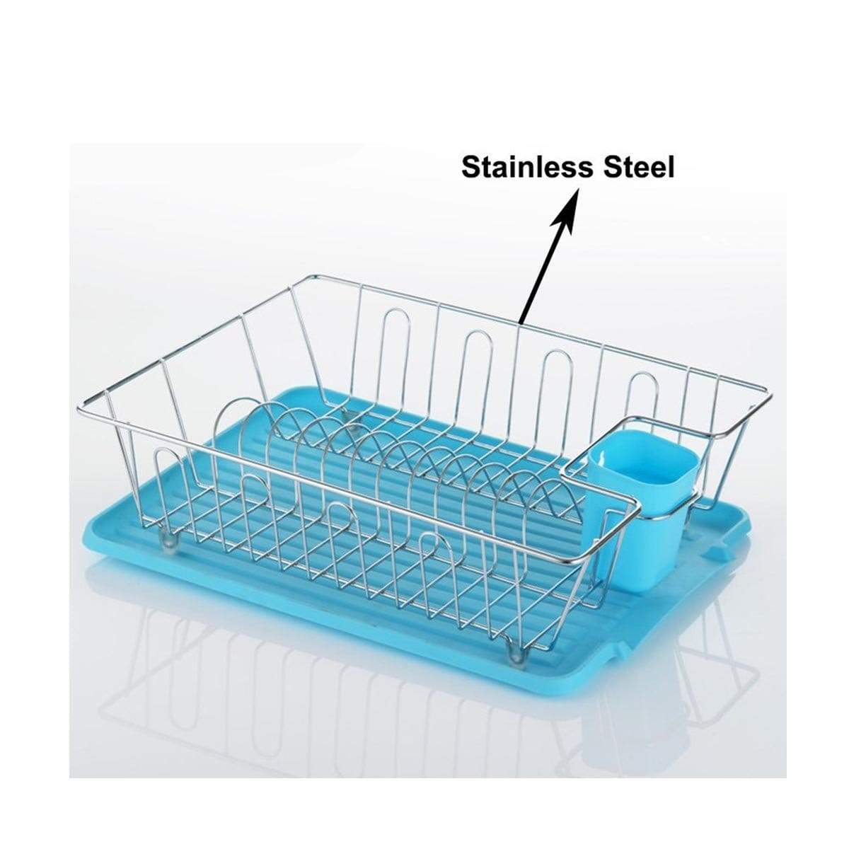0117 Single Tier Dish Rack
