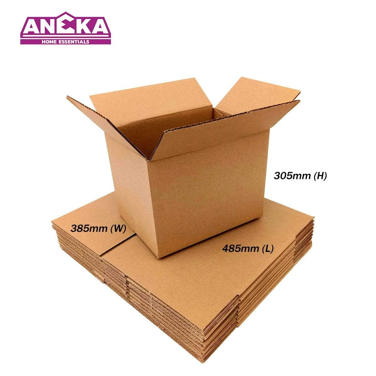 20pcs Packing Box Packaging Box Carton Box Paper Boxes Kotak 485 x 385 x 305mm