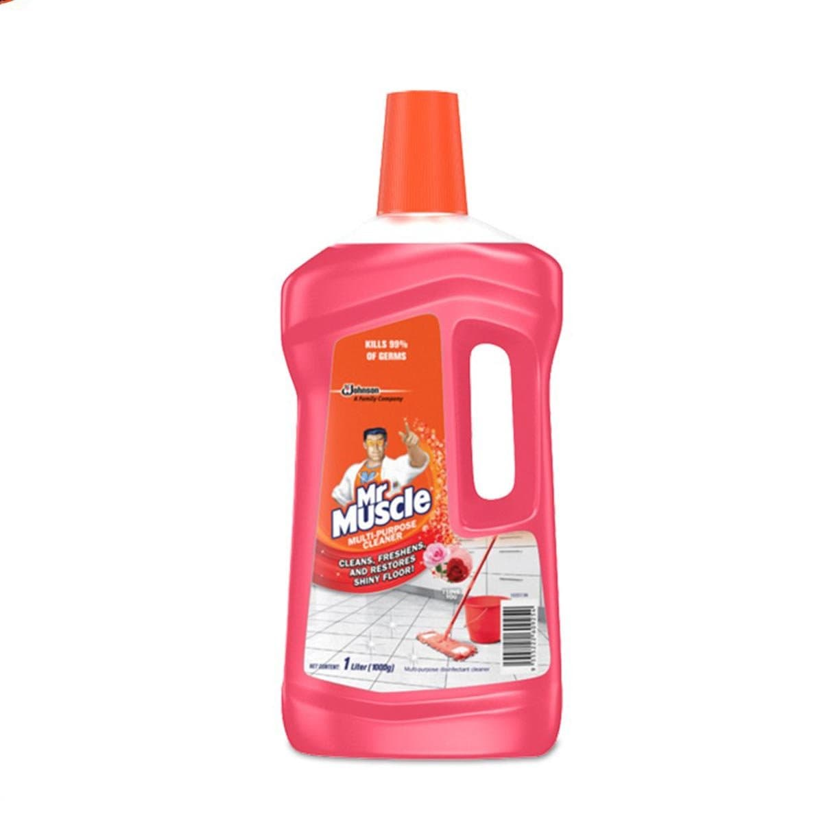692236 Mr Muscle Floor Cleaner I Love You 1L