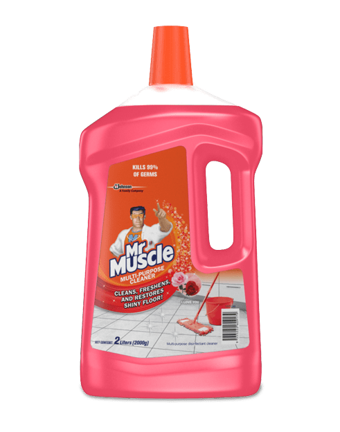 692560 Mr Muscle Floor Cleaner I Love You 2L