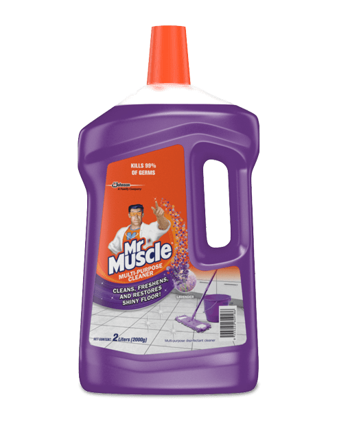 692566 Mr Muscle Floor Cleaner Lavender 2L