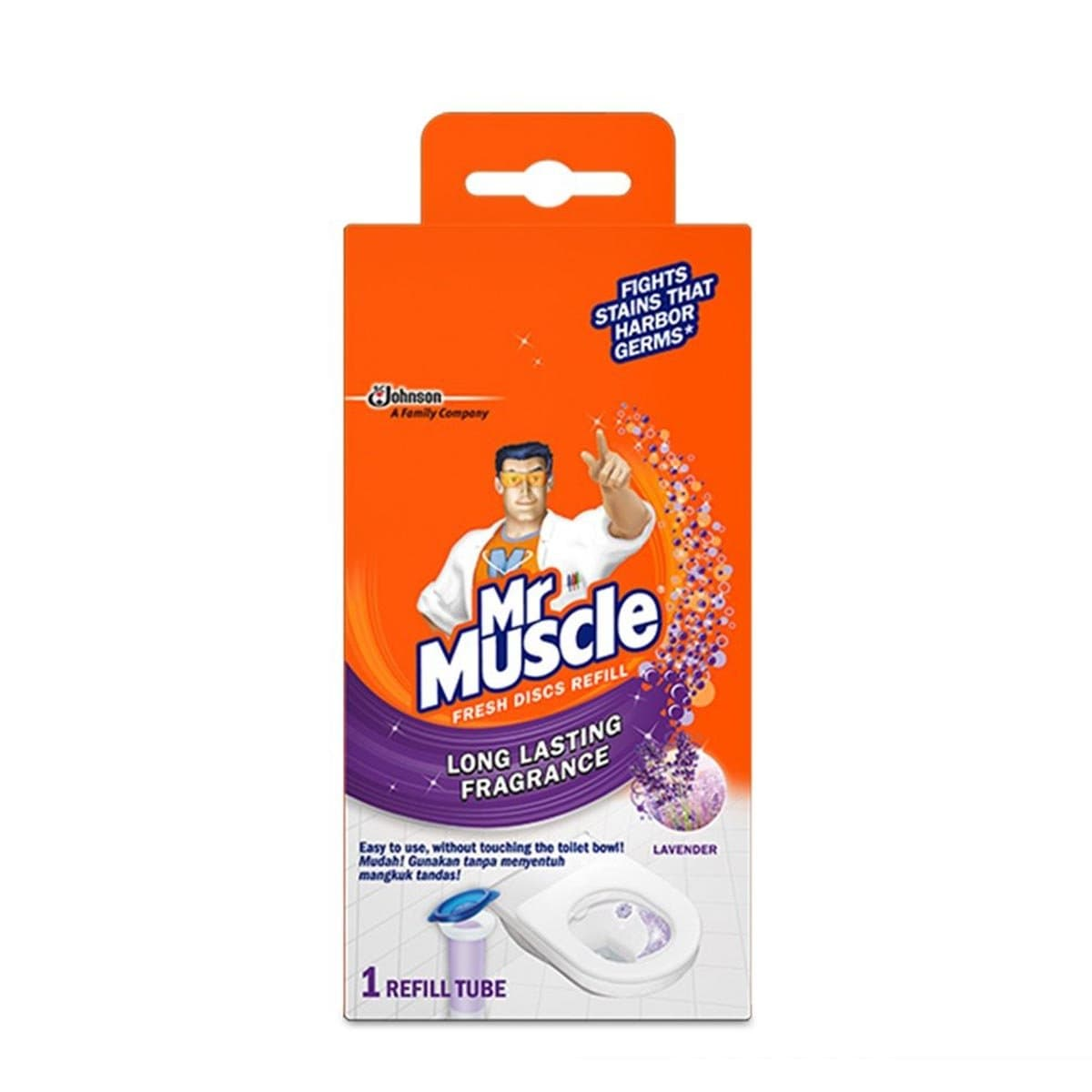 695274 Mr Muscle Refill Lavender 6s 38g