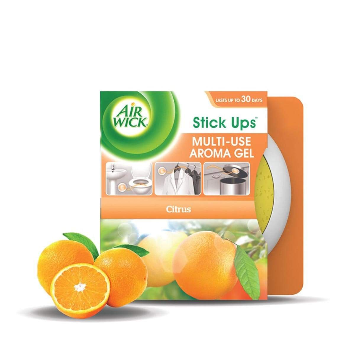 Air Wick Stick Ups Gel - Citrus (30g)