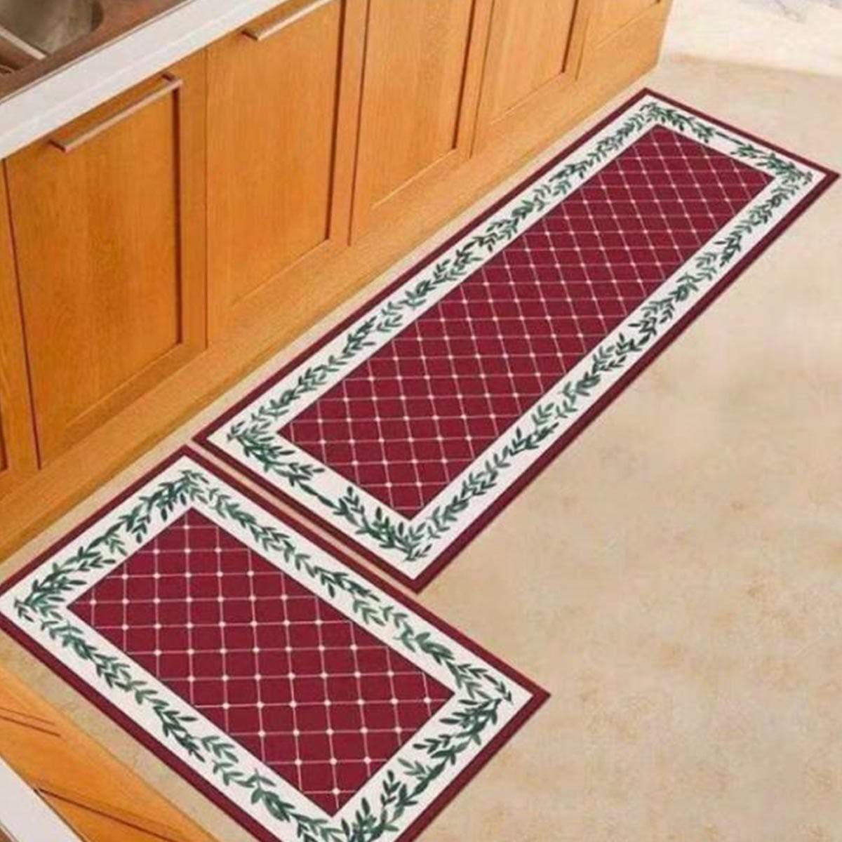 Aneka 40x60cm + 40x120cm Carpet Set - D