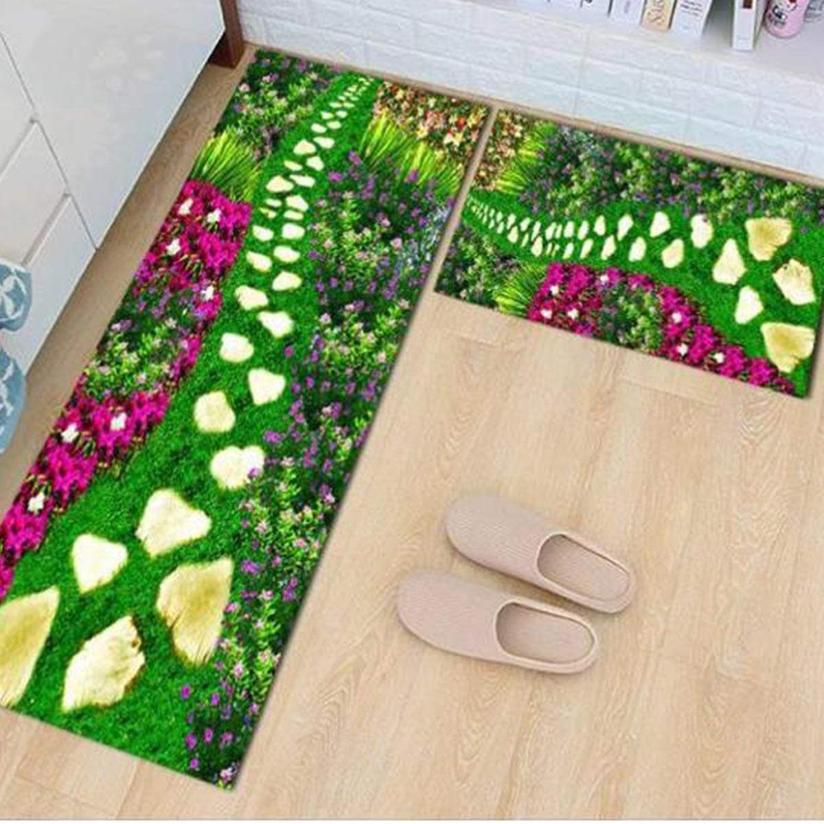 Aneka 40x60cm + 40x120cm Carpet Set - E