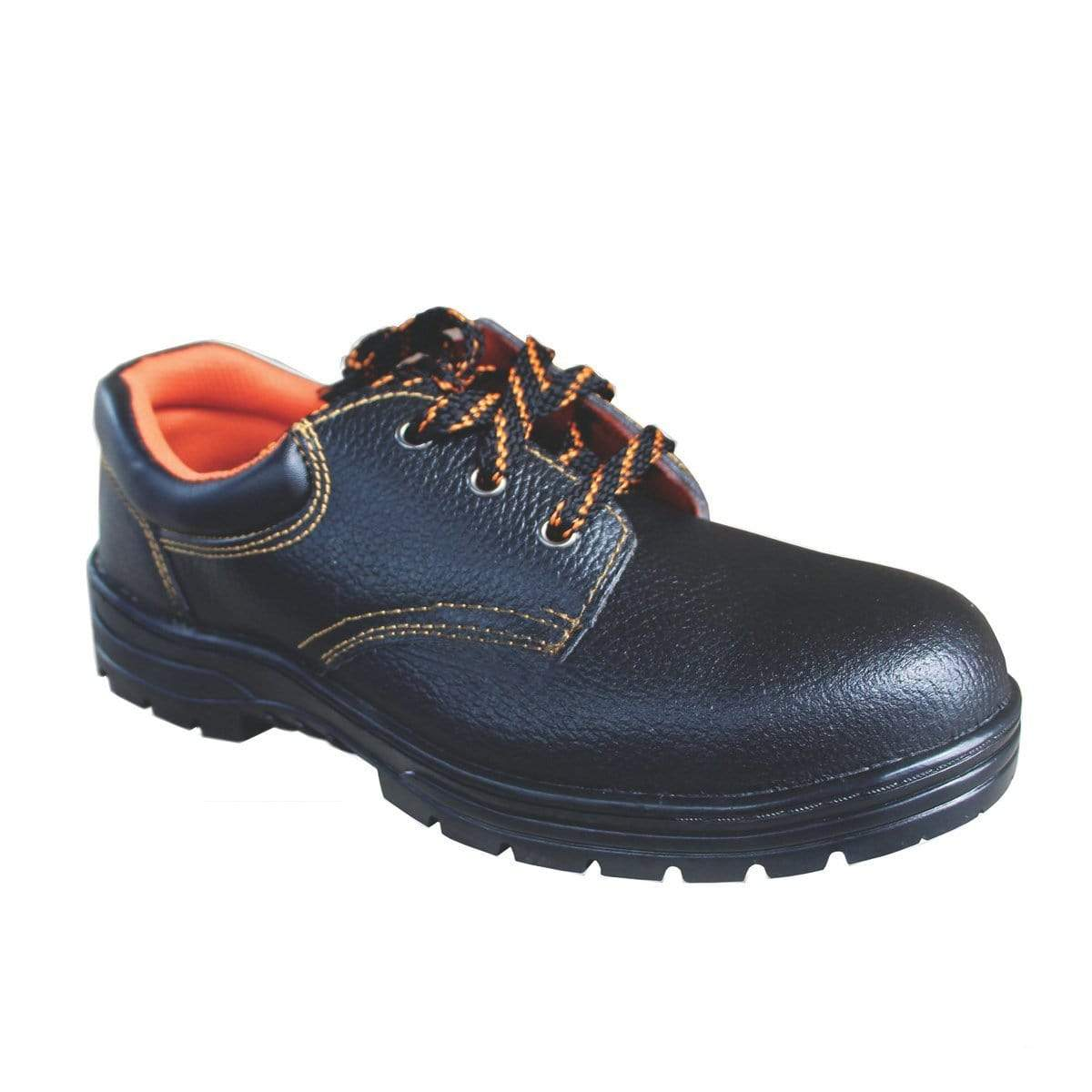 ANEKA Worker Safety Shoes Safety Boots Steel Toe Cap Kasut UK4 1000#