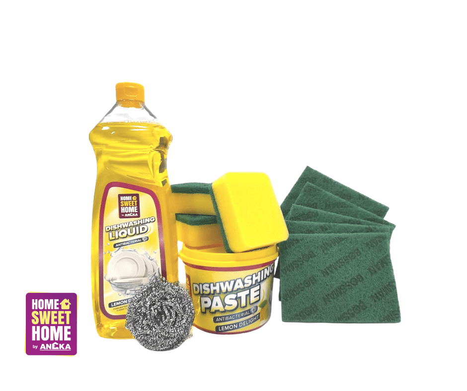 Anti-Bacterial Kitchen Care Bundle - Lemon