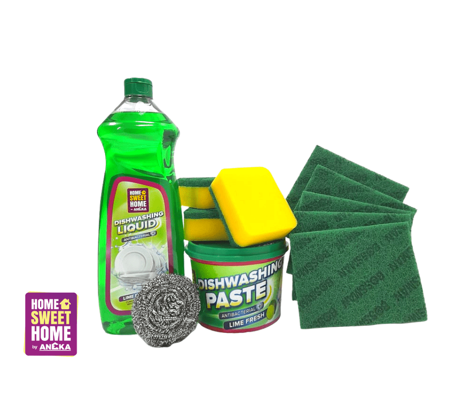 Anti-Bacterial Kitchen Care Bundle - Lime