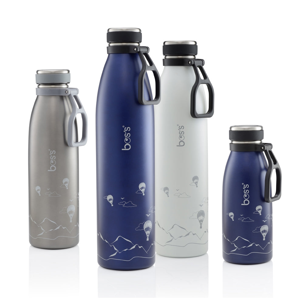 BOS'S 1000ml Stainless Steel Travel Vacuum Bottle BTS1000H