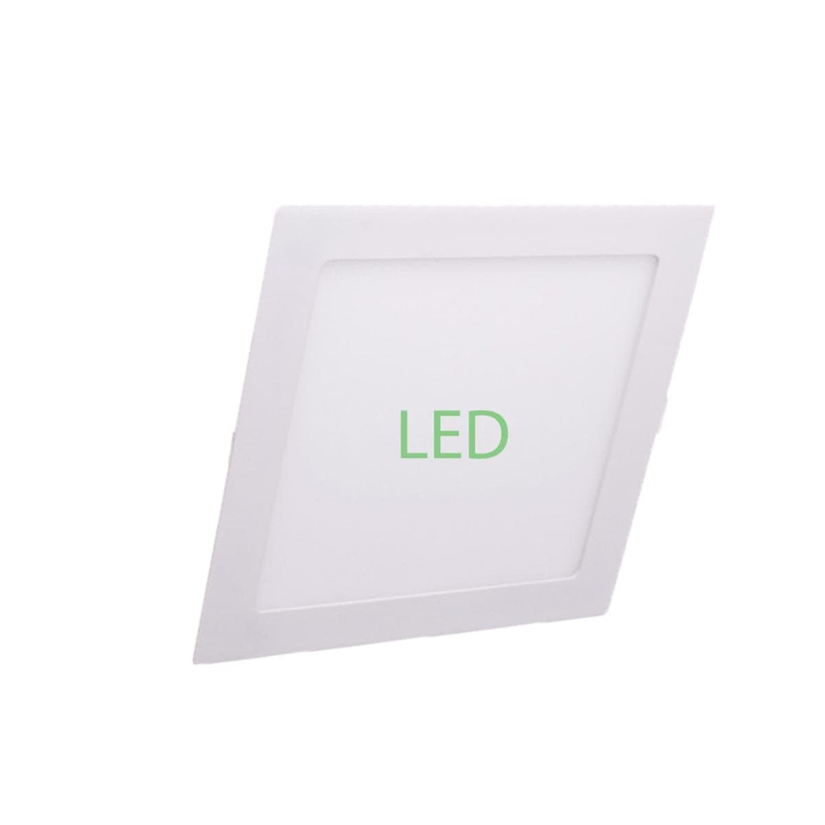 "Bossman LED Downlight 4"" 9W Cool White (Square)"