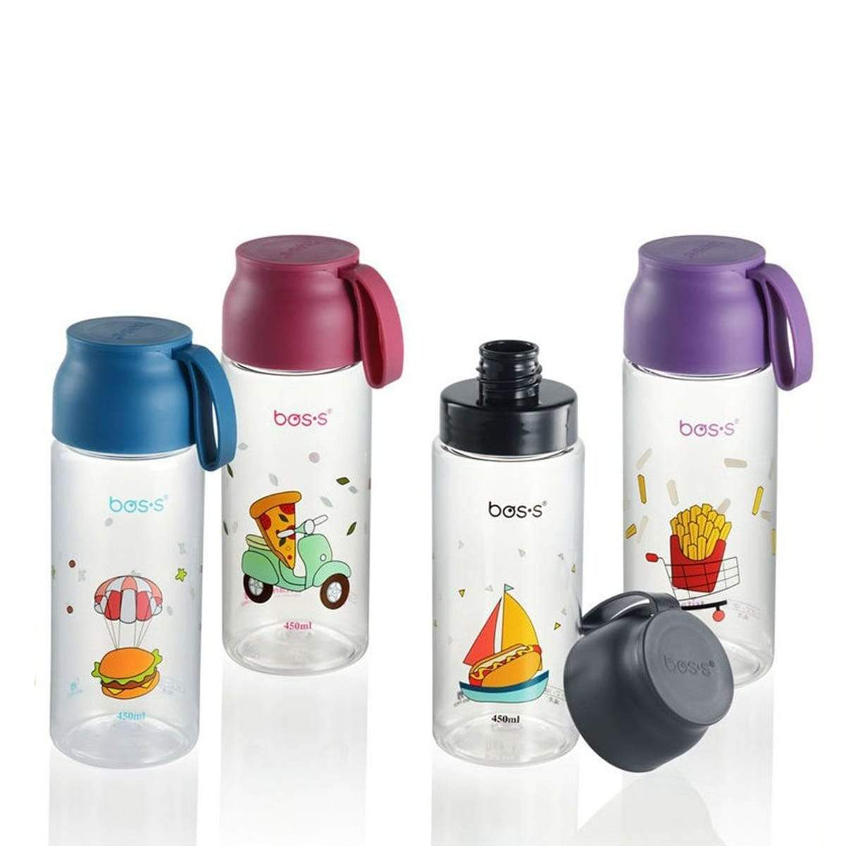 BSM055 550ml BOS'S Kids Tritan Bottle