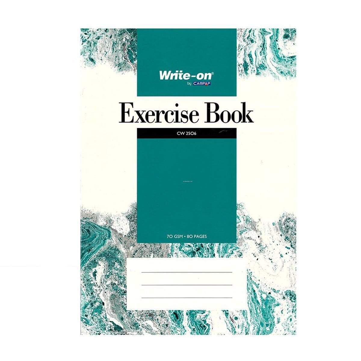CAMPAP Exercise Book A4 120pg - Write On CW2507