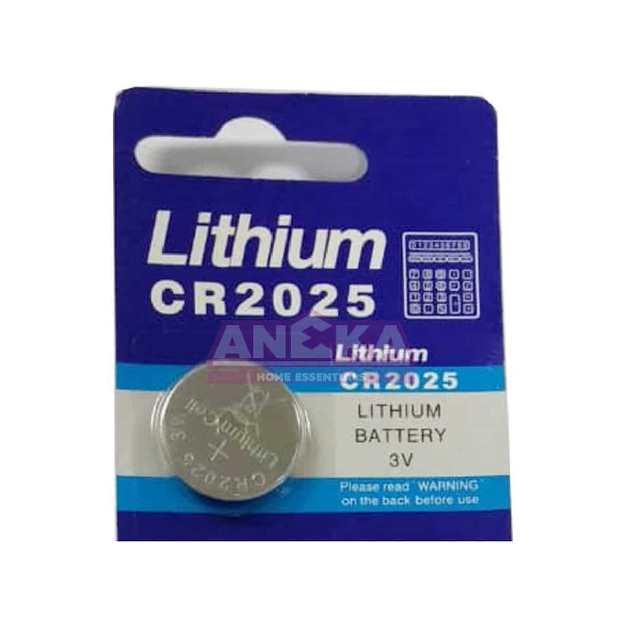 CR2025 - 5 PCS MICRO LITHIUM CELL 3V