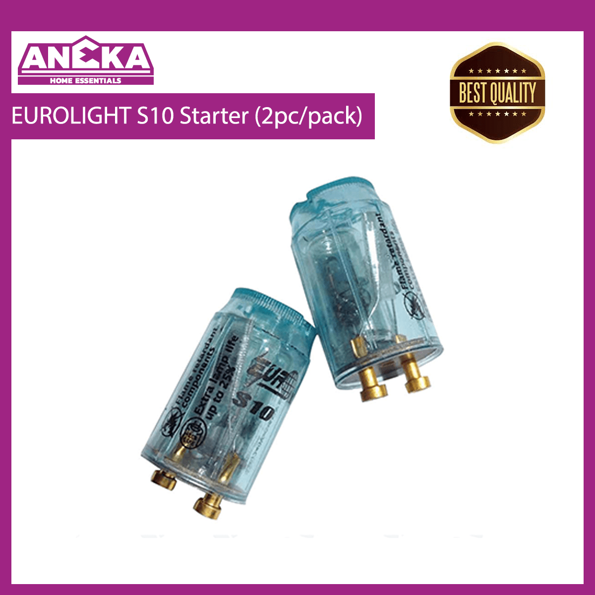 EUROLIGHT S10 Starter (2pcs/pack)