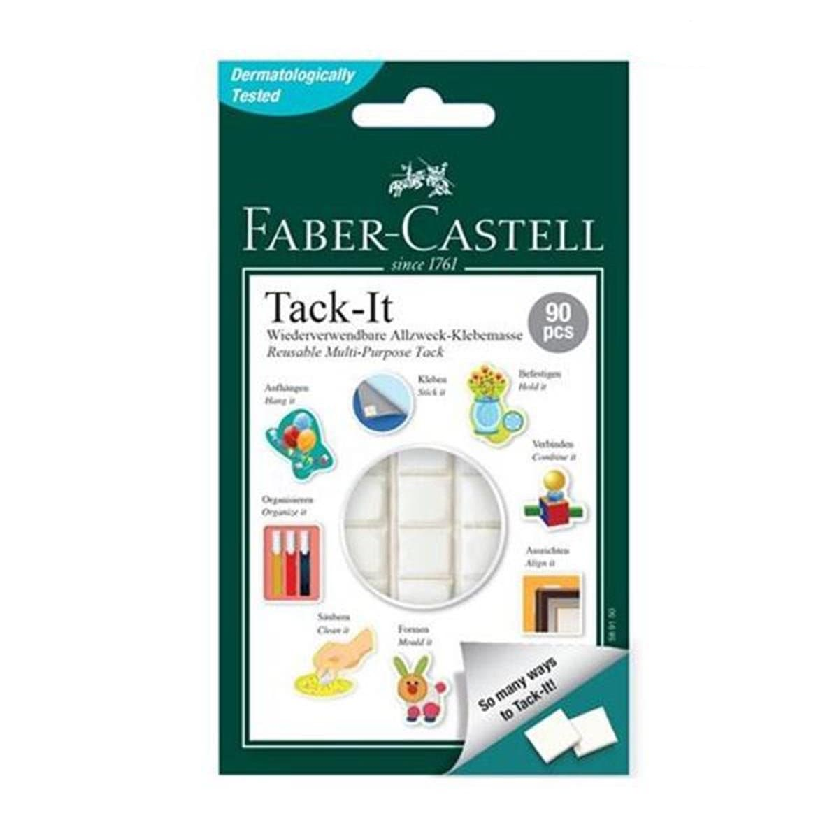 Faber Adhesive Tack-It 50g (White) 187054