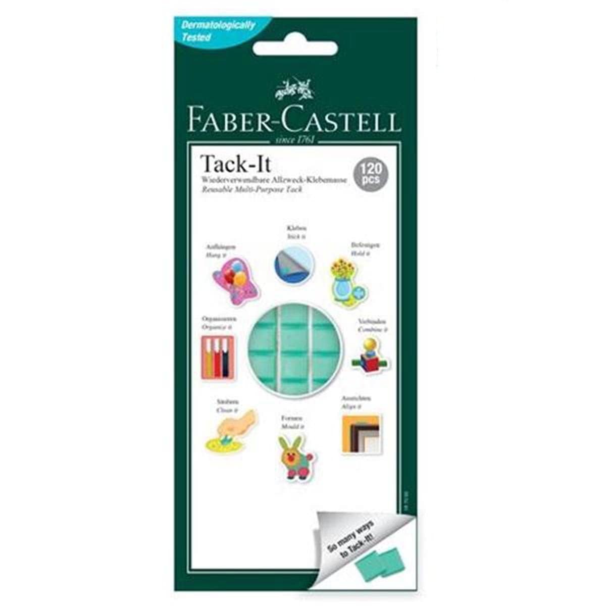 Faber Adhesive Tack-It 75g (White) 187057