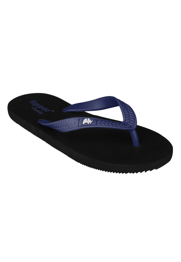 Fipper Slipper Comfy Navy Size 7 - 11