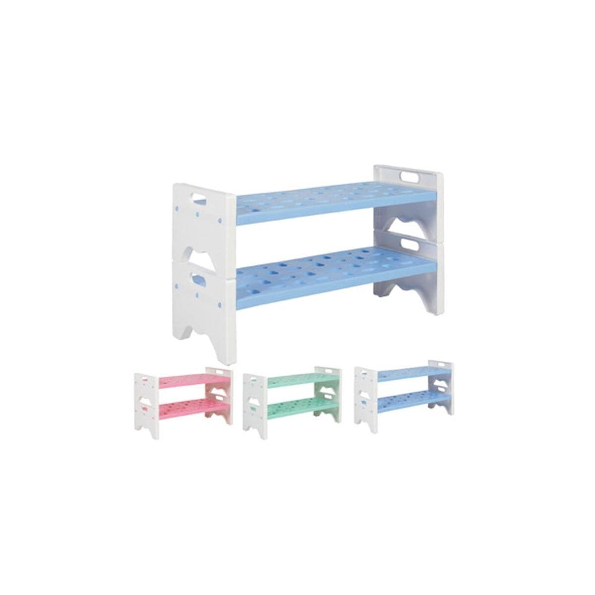 FPSR338 Felton Plastic Shoe Rack 2 Layer