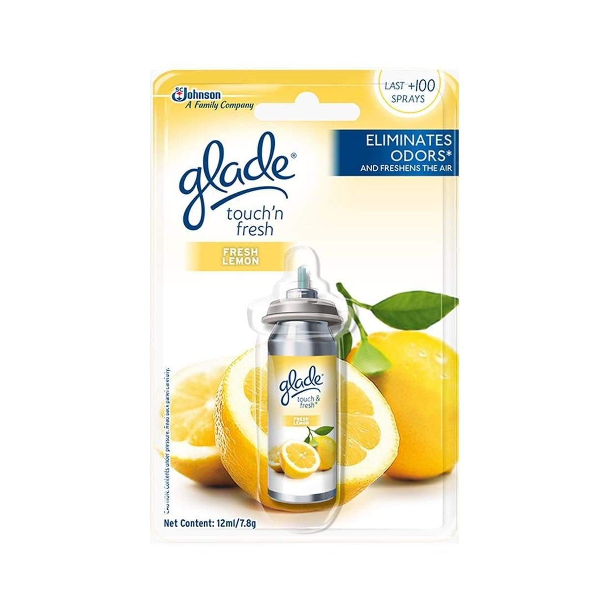 Glade Touch & Fresh Refill Lemon Fresh 12ml