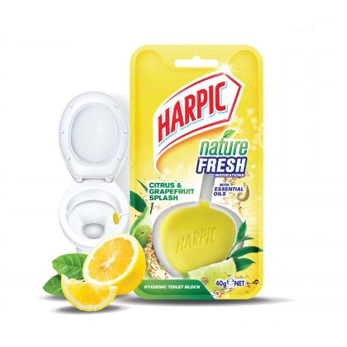 Harpic Nature Fresh (40g) - Citrus & Grapefruit Splash