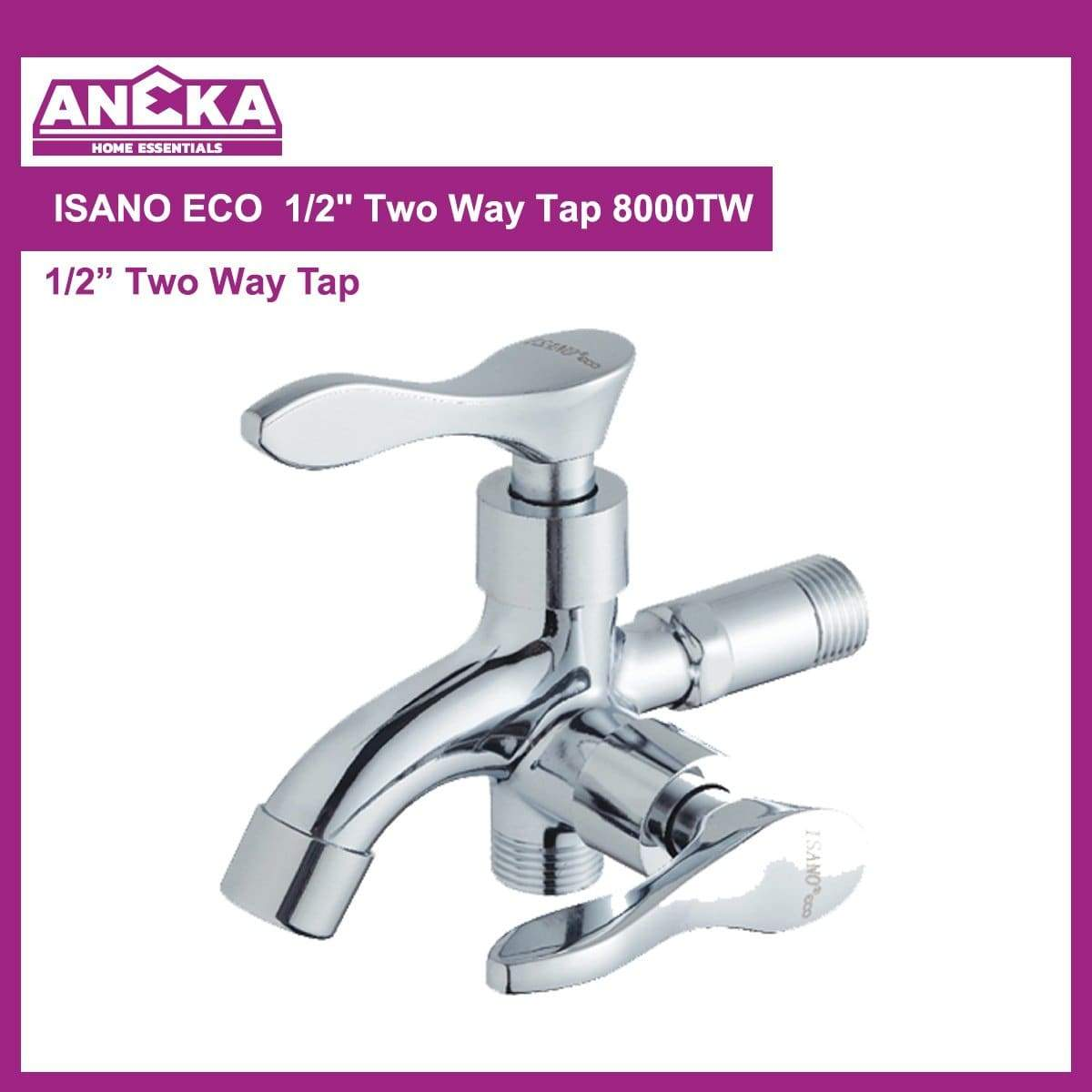 "ISANO ECO 1/2"" Two Way Tap 8000TW"