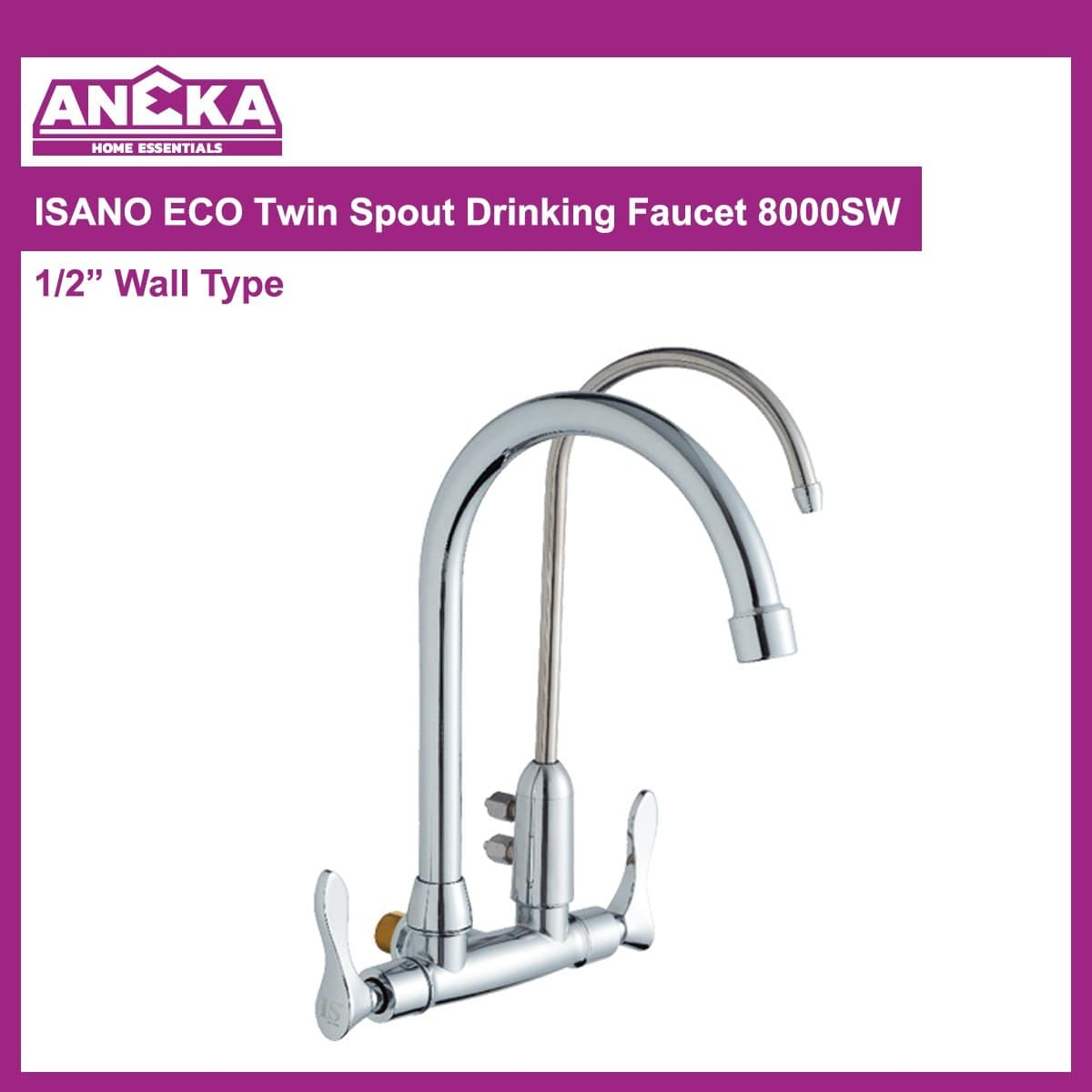 ISANO ECO Twin Spout Drinking Faucet 8000SW