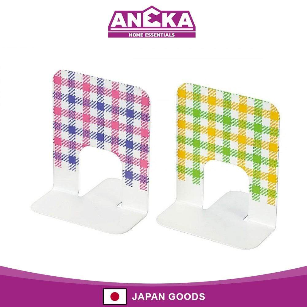 Japanese Book Stand Checked Plaid Design