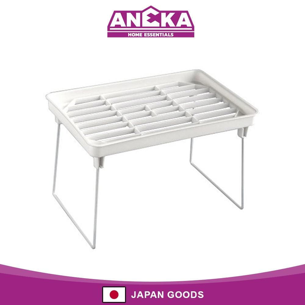 Japanese Plastic Arrangement Storage Shelf Small